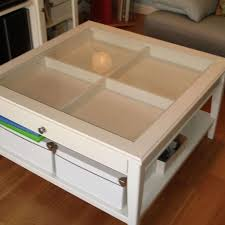 top 20 modern coffee tables gallery of glass top display coffee tables with drawers view 20