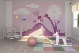 Nursery Wall Mural Decals Fascinating Tips For Baby Nursery Wall Decor Ideas