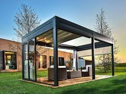 Glass Pergola Roof by Stunning Pergola Designs To Accent Home Trends4us Com