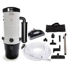 Power Vaccum Prolux Cv12000 White Central Vacuum Power Unit With Electric Hose