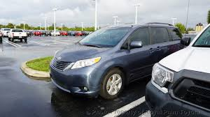 2015 Toyota Sienna Interior 2015 Used Toyota Sienna 5dr 8 Passenger Van Le Fwd At Royal Palm