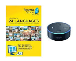 rosetta stone yearly subscription rosetta stone 2 year subscription with echo dot deal flash deal finder