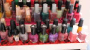 diy nail polish storage shelf stand for placing on vanity table