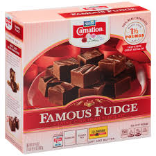 neslte carnation classic chocolate famous fudge kit shop baking
