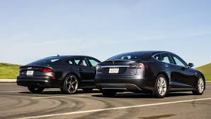 lexus vs audi a7 sedan shoot out audi s7 vs tesla model s 90d automobiles