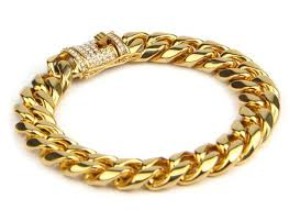 box bracelet clasps images Gold 14mm cuban bracelet with iced out box clasp dee bijoux store jpg