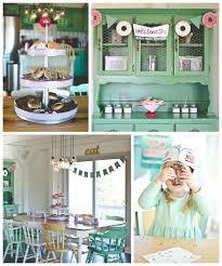 kara u0027s party ideas vintage donut shop themed birthday party