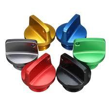 cnc aluminum oil filler cap plug for honda ducati yamaha kawasaki