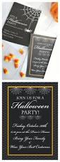 Halloween Card Invitation Best 25 Halloween Party Invitations Ideas On Pinterest
