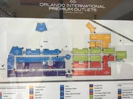 orlando premium outlets map map picture of orlando international premium outlets orlando
