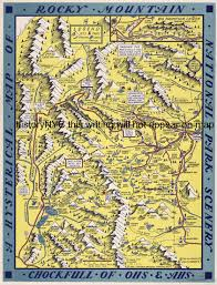 Rocky Mountain Map Welcome To Historynyc Historical Maps Poster Books And Custom