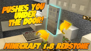 Funny Door Stops by Minecraft Redstone