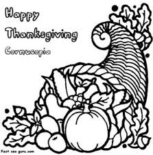 coloring pages cornucopia thanksgiving coloring pages ideas