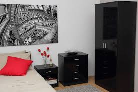 What Color Should I Paint My Bedroom by What Colour Curtains Go With Black Sofa Dark Wood Bedroom