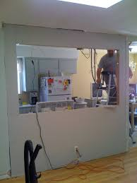 Galley Kitchens With Breakfast Bar Knocking Out A Wall To Install A Bar My Fifties Kitchen Redo