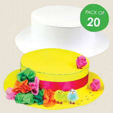 Easter Bonnet Cake Decorating by Cardboard Easter Bonnets Cleverpatch