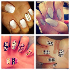 pointed cross nails images
