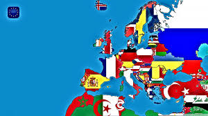 Map Of Europe 1600 European Map With Flags Hd Desktop Wallpaper High Definition