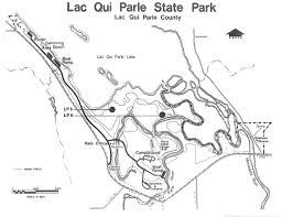 Mn State Park Map by Lac Qui Parle State Park Map 1974 This Map Of Lac Qui Pa U2026 Flickr