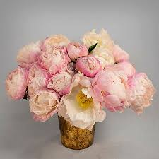 peonies delivery blush watercolor peonies styled peony arrangement