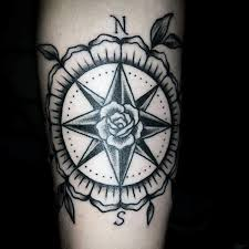 100 compass rose tattoo nautical compass rose tattoo
