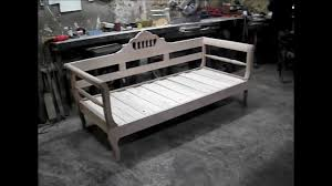Collapsible Bed Frame Full Folding Bed Youtube
