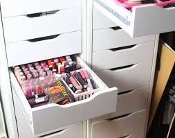drawer dressing table organisation awesome makeup organizer