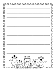 73 best free writing papers for kids images on pinterest
