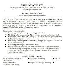 marketing objective resume lukex co