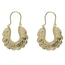 gipsy earrings modern uk designer jewellery pearl and queenie