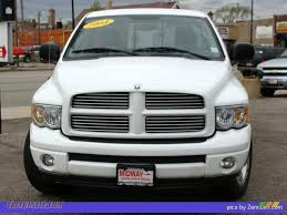 Dodge Ram White - 2004 dodge ram 1500 slt rumble bee regular cab in bright white