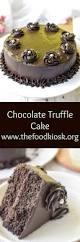 best ever eggless chocolate cake chocolate truffle cake recipe