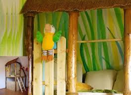 dschungel kinderzimmer lebendige gestaltung wandmalerei kinderzimmer