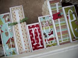 jingle wood block craft christmas cont pinterest wood