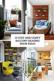 Reading Nook by 15 Cozy And Comfy Balcony Reading Nook Ideas Shelterness