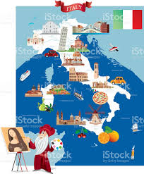 Map Of Rome Italy by Cartoon Map Of Italy Stock Vector Art 501967384 Istock