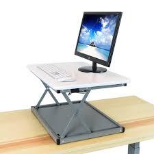 Standing Sitting Desks Adjustable by Deskriser 28x Standing Desk Adjustable Height Sit To Stand Up