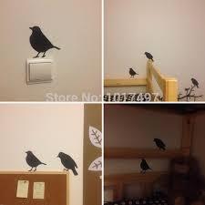 aliexpress com buy wall stickers modern home decor bird wall