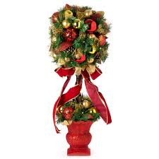 swish collection christmas topiary tree 85cm diy topiary
