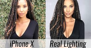 Portrait Lighting Iphone X Portrait Lighting Versus Real Studio Lighting