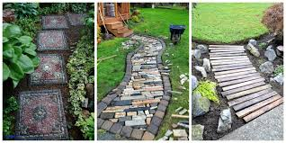 Walkway Ideas For Backyard Backyard Pathway Ideas New Diy Pathway Ideas Finest Moss And