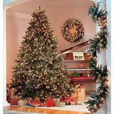 7ft pre lit tree frosted berry warm white 200 led