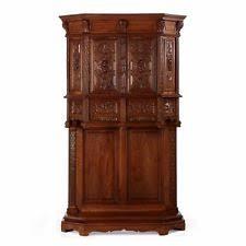 oak gothic antique cabinets u0026 cupboards ebay