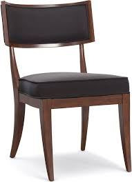 Klismos Chair by Cynthia Rowley For Hooker Furniture Dining Room Upholstered