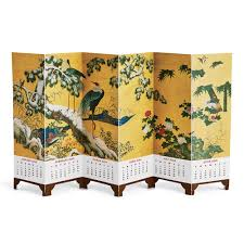 birds and folding screen desk calendar 2018 met store