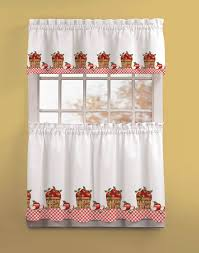 Orange Kitchen Curtains by Kitchen Country Apples Kohls Kitchen Curtains For Kitchen