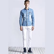 Skinny White Jeans Mens White Jeans Man Jeans To