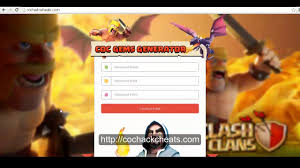 a free coc cheats u0026 hack tool that generates free gems