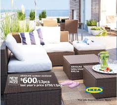 Patio Sets Ikea Ikea Patio Furniture Arholma Roselawnlutheran