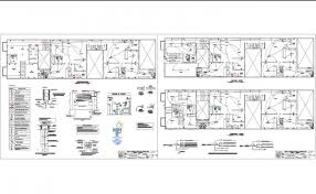 electrical plan electrical plan and detail in autocad dwg files